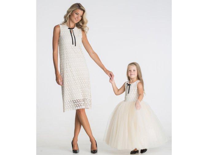 produktová šaty Iveta krajkové