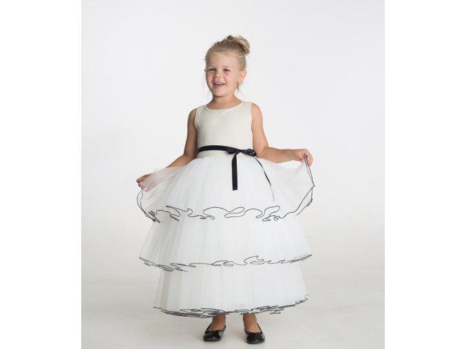 produktová šaty Anetka krémové