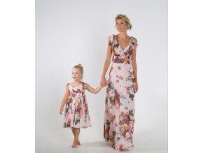 produktová šaty Iveta květové
