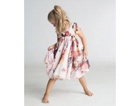 produktová šaty Anetka květové