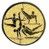 Emblém gymnastika sportovní muži
