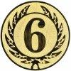 Emblém číslice 6