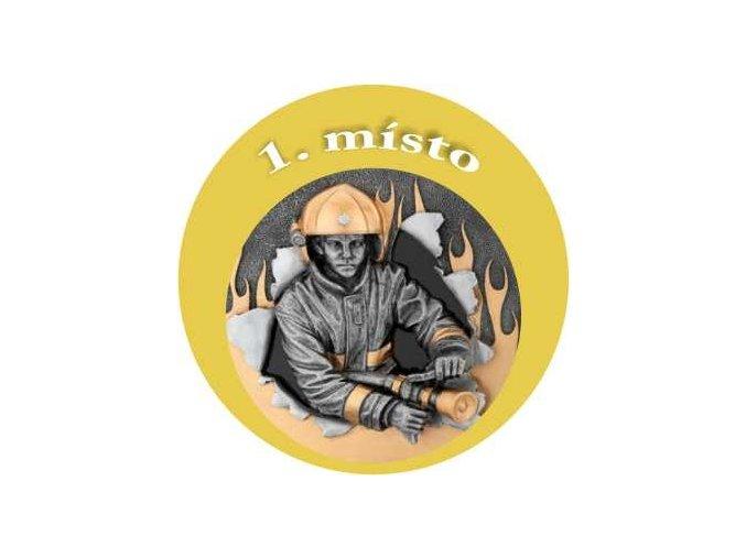 Emblém hasič 1.místo