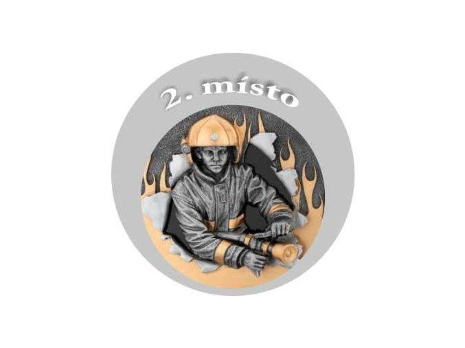 Emblém hasič 2.místo