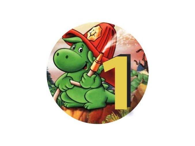 Emblém Soptík 1.místo