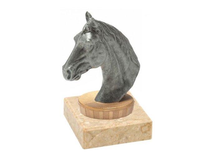Figurka barevná koňská hlava