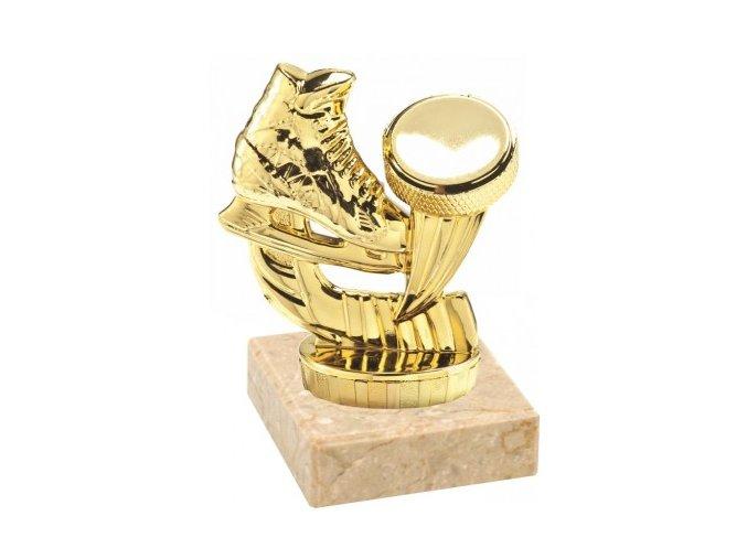 Figurka zlatá lední hokej