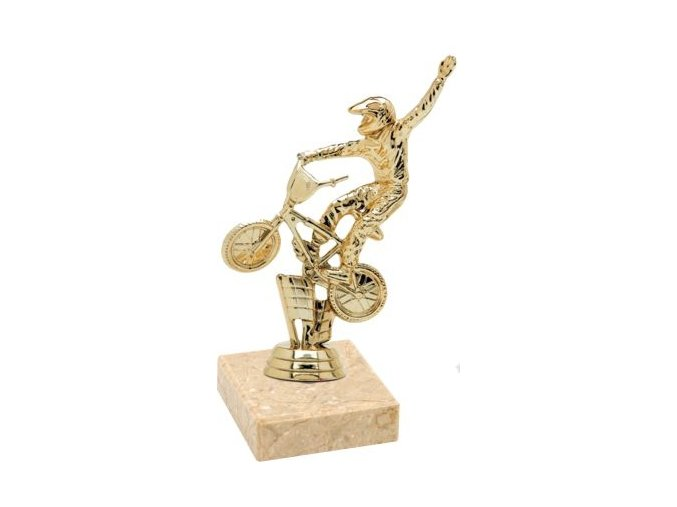 Figurka zlatá BMX kolo