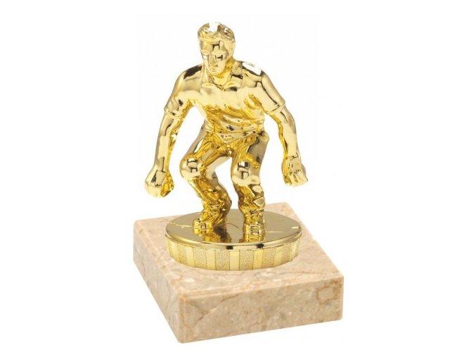 Figurka zlatá petanque