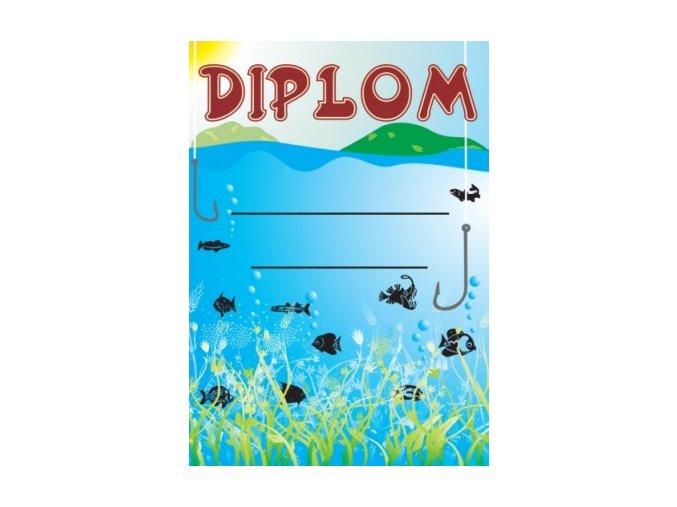 Diplom malý ryby