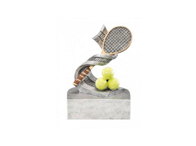 Soška tenisová raketa