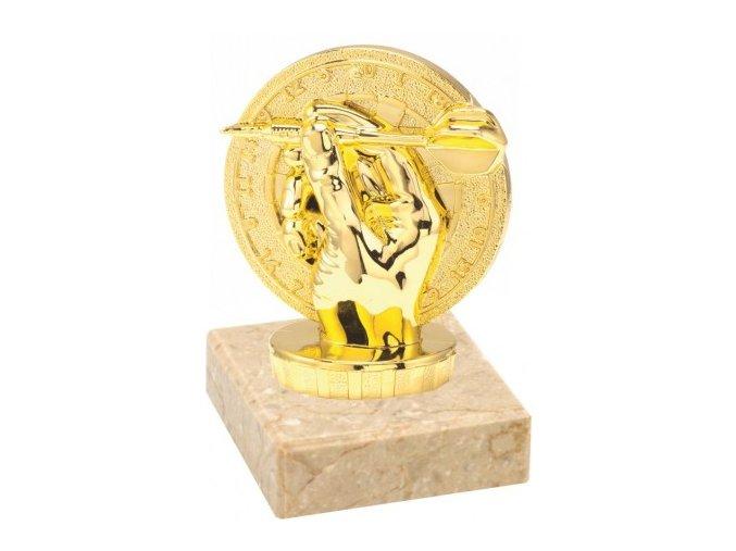 Figurka zlatá šipky