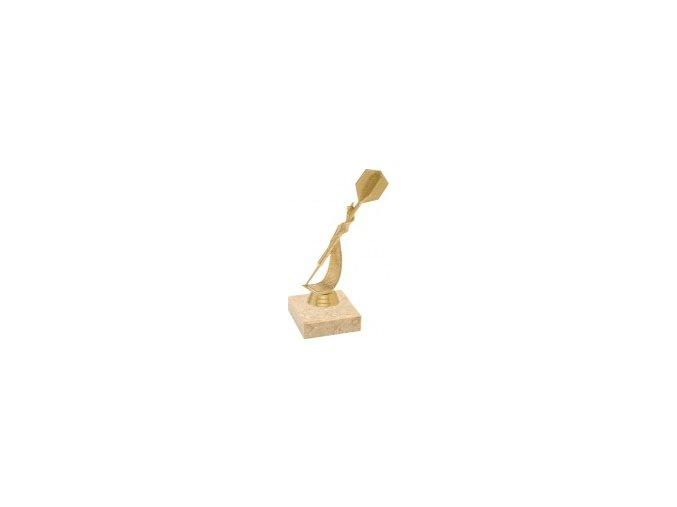Figurka zlatá šipka
