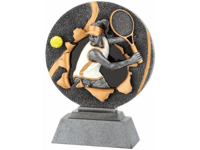 Soška tenis žena