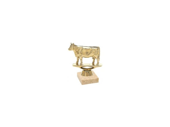 Figurka zlatá kráva