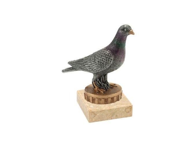 Figurka barevná holub
