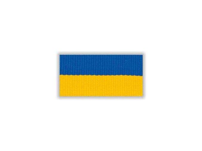 STUHA S KARABINOU V8MZ - MODRÁ ŽLUTÁ ÚZKÁ