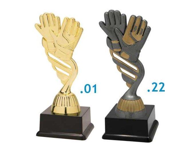 Figurka fotbalové rukavice
