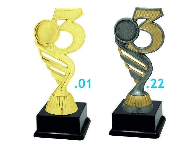 Figurka číslice 3