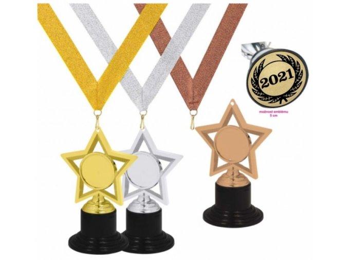 Medaile hvězda MDC002