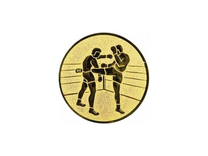 Emblém kickbox,thaibox