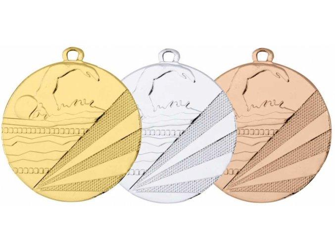 Medaile plavání MDA1120