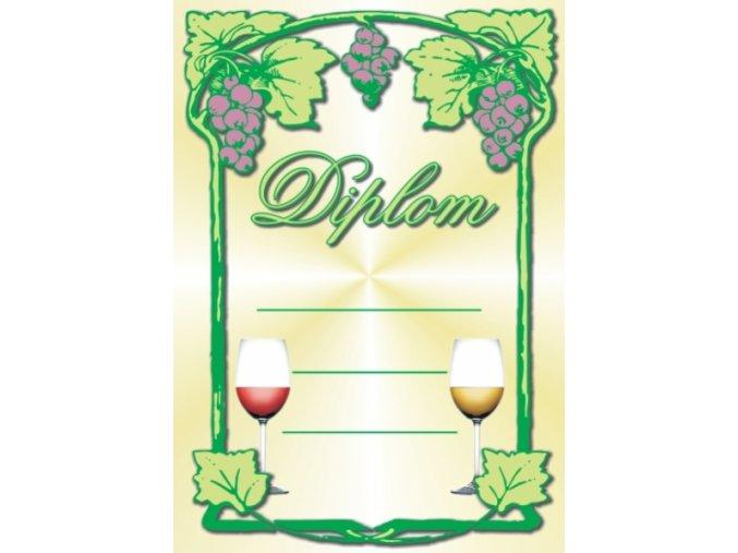 Diplom velký víno