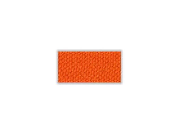 Stuha s karabinou V2O - oranžová