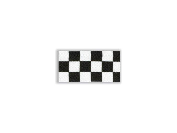 Stuha s karabinou V45 - šachovnice