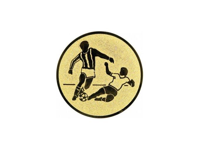 Emblém fotbal hráči