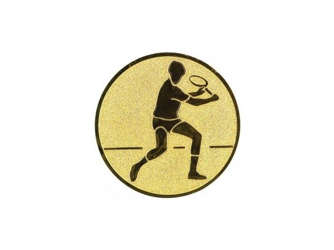 Emblém tenis muž