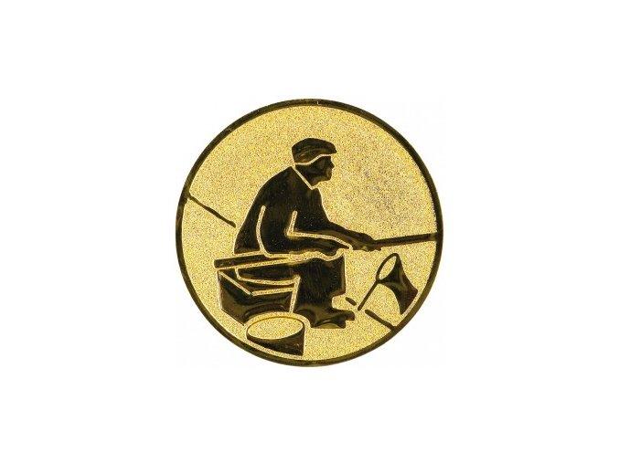Emblém rybář