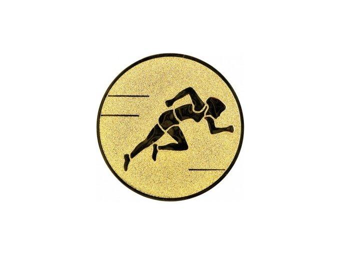 Emblém běh žena