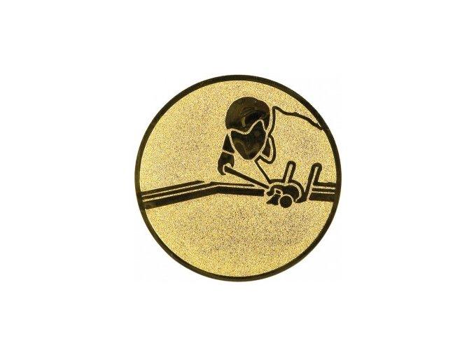 Emblém kulečník