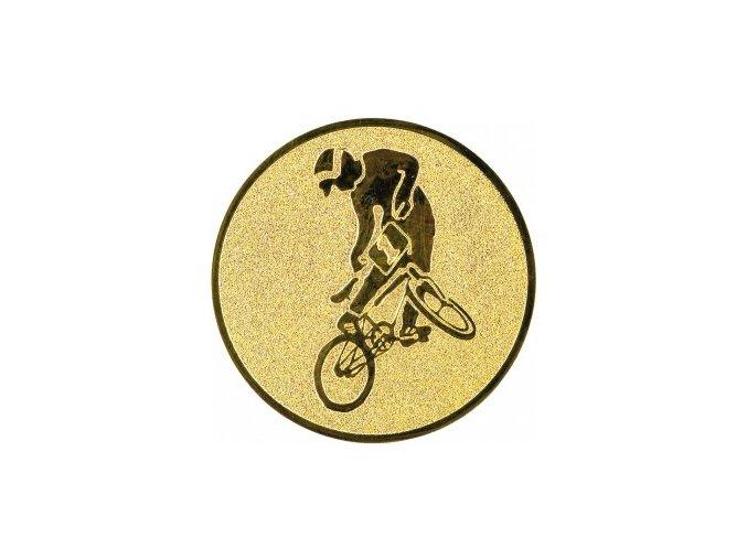 Emblém BMX kolo