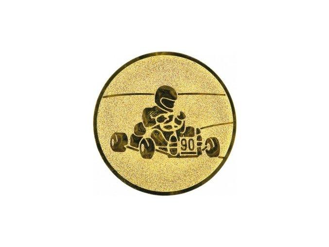 Emblém motokára