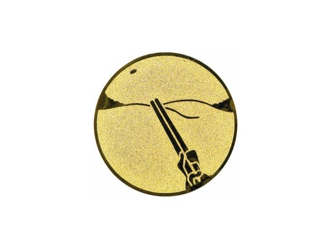 Emblém střelba na asfaltové holuby
