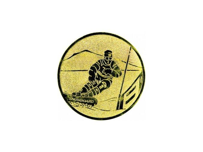 Emblém snowboard