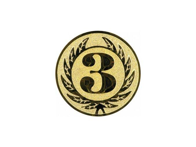 Emblém číslice 3