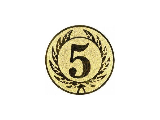 Emblém číslice 5
