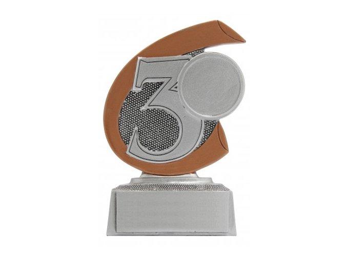 Soška číslice 3