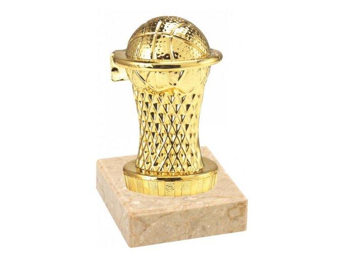 Figurka zlatá basketbal