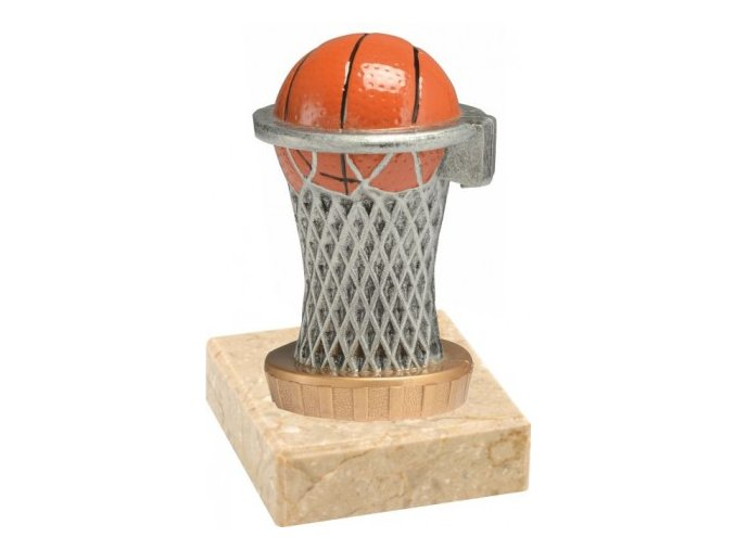 Figurka barevná basketbal