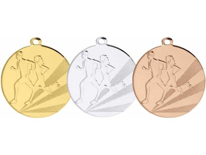 Medaile běh MDB1121