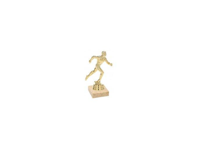 Figurka zlatá běh muž