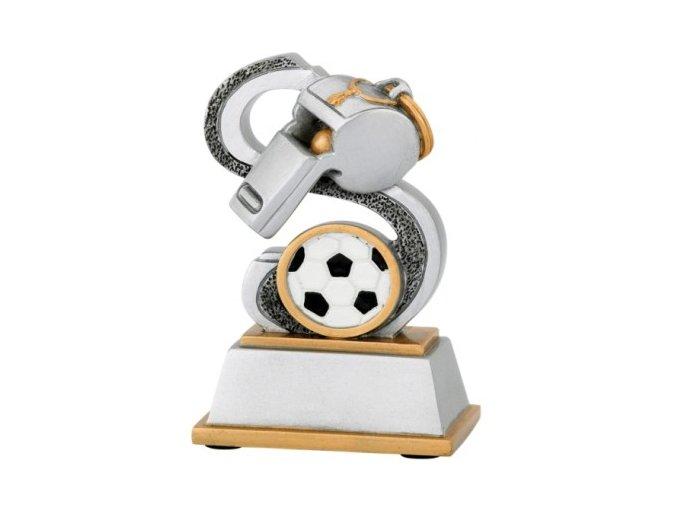 Soška fotbalová píšťalka