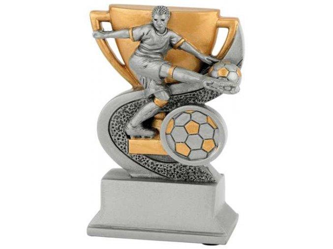 Soška fotbal hráč