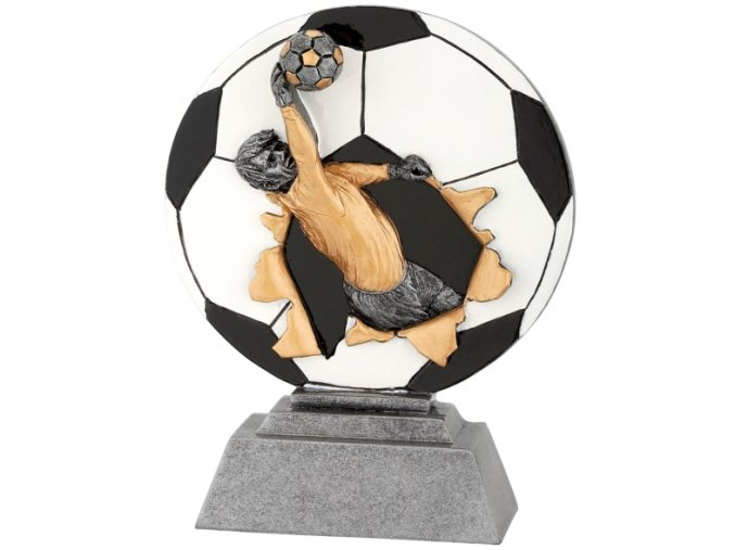 Soška fotbal brankář