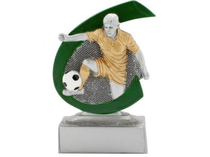 Soška fotbal muž