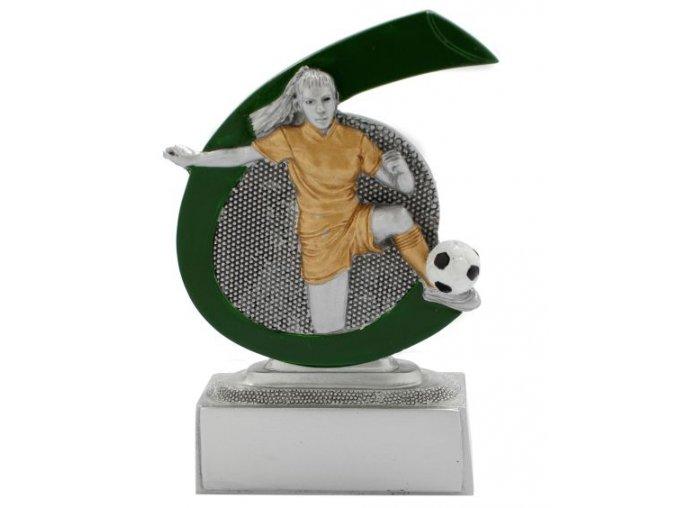 Soška fotbal žena